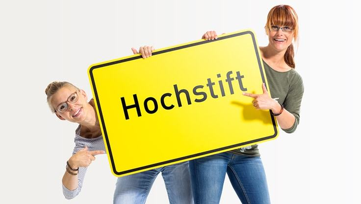 Radio Hochstift-Moderatorinnen Sylvia Homann und Stephani Josephs
